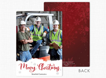 Just Like That Flat Holiday Photo Cards